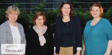 Dentista Club: Alter und neuer Vorstand mit voller Rückendeckung