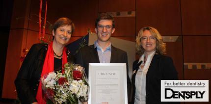 DENTSPLY Stipendium für Seniorenzahnmedizin verliehen