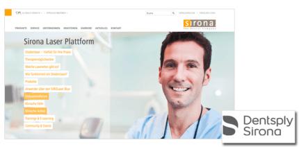 Dentsply Sirona: Neue Online-Plattform zum Austausch über Laserzahnheilkunde