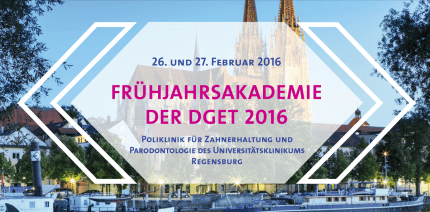 Frühjahrsakademie der DGET 2016 in Regensburg