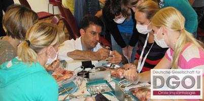 """DGOI: 70 Teilnehmer bei """"Implantologie für Studierende"""""""