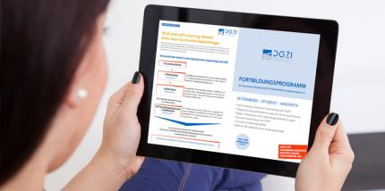 DGZI Curriculum Implantologie jetzt mit E-Learning-Modul