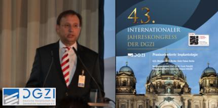 """""""Praxisorientiere Implantologie"""" beim DGZI-Jahreskongress"""
