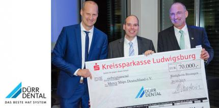 DÜRR DENTAL AG: 70.000 Euro für Mercy Ships durch Spendengala