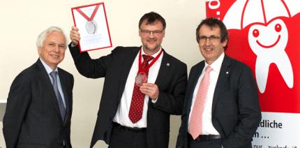 Friedrich-Römer-Ehrenmedaille verliehen