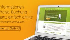 Jetzt noch leichter: Events der OEMUS MEDIA AG online buchen