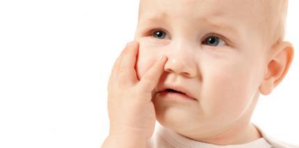 Mundfäule: Kindern weiche und kühle Nahrung geben