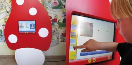Interaktives Spielprogramm für das Wartezimmer