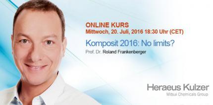 Live-Webinar: Komposit 2016 – No Limits?