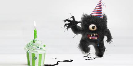 Happy Birthday to me – Freddy for free in 30 cm Größe