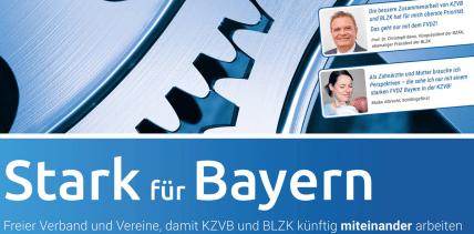 Fraktionsgemeinschaft von FVDZ und KZVB geplant
