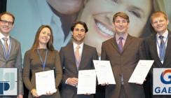 """DGParo und GABA verleihen """"meridol Preis 2013"""""""