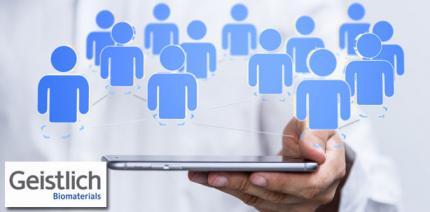Geistlich Pharma markiert Präsenz auf LinkedIn