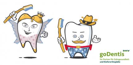 Zähneputzen mit Cowboy und Fee