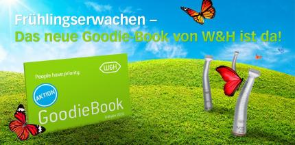 Frühlingserwachen mit W&H – Das neue Goodie-Book ist da!