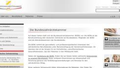 Webangebot der BZÄK zertifiziert