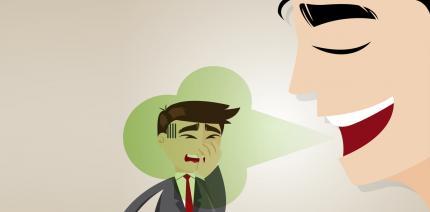 Schlechter Atem: So wird man Mundgeruch los