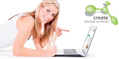 create – Neuer Website-Service von Dentaurum