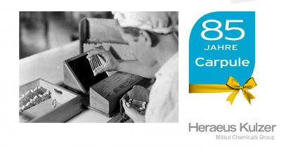 Eine Marke wird 85: Carpule®