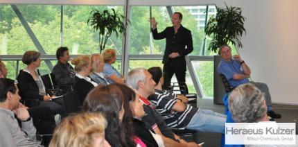 Heraeus Kulzer Symposium in München: Länger gut Lachen haben