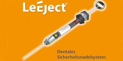 Neu: LeEject-Sicherheitsspritze und Nadelsystem