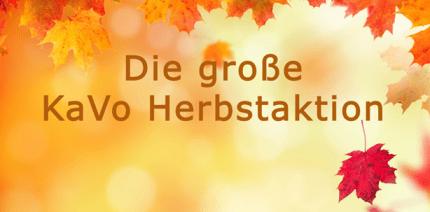 KaVo Herbstaktionen: Clever investieren und langfristig profitieren!