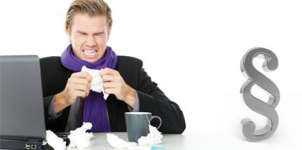 Wenn die Grippe kommt - Rechte und Pflichten im Job bei Krankheit