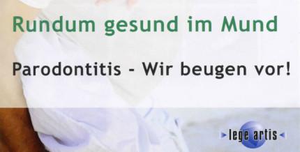 Neuer Patientenratgeber zur Parodontitis-Prophylaxe