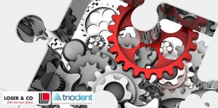Triodent: Starke Präsenz mit Kooperationspartner Loser & Co