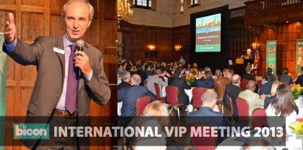 Bicon International VIP Meeting 2013 eröffnet