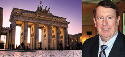 Dr. Richard P. McLaughlin in Berlin