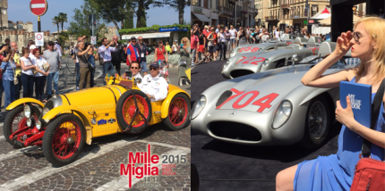 Ferrari, Mercedes und die Sonne Italiens