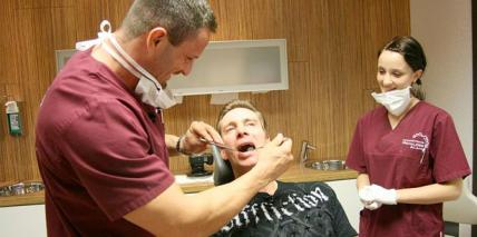 Jürgen Milski macht Schluss – mit der Zahnarztangst