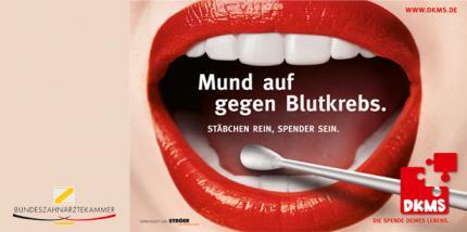 Mund auf gegen Blutkrebs