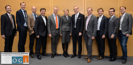 Neuer Vorstand und neue Funktion in der ÖGI gewählt