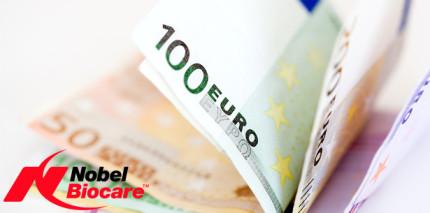 Nobel Biocare: Preise bleiben auch im 4. Jahr stabil
