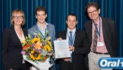 Oral-B Preis an Dr. med. dent. Tobias Hägi verliehen