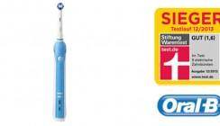 Oral-B Professional Care 1000 erneut an der Testspitze