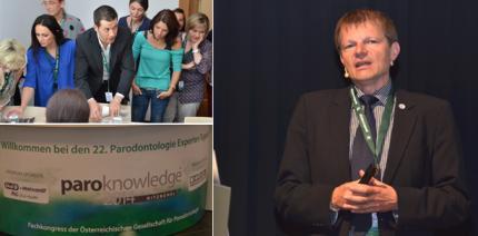 Parodontologie und Alpenpanorama: paroknowledge© 2014