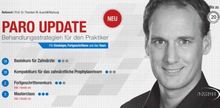 Parodontologie-Update – Hochkarätige Kursreihe wird 2017 fortgesetzt