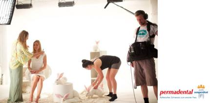 Making-of zum ersten Permadental TV-Spot fertiggestellt