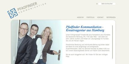 Pfadfinder Kommunikation relauncht Webseite