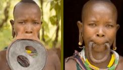 Größte Lippenscheibe der Welt schafft es ins Guinness-Buch