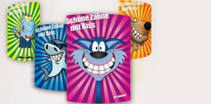 Coole Comic-Katze bei Zahnärzten beliebt