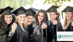 praxisHochschule feiert 1. AbSolvia des Bachelor-Studiengangs Dentalhygiene