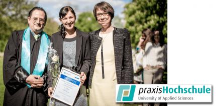 CP GABA prämiert beste Bachelorarbeiten 2015 an der praxisHochschule