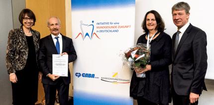 """Preisverleihung Präventionspreis """"Mundgesundheit in der Pflege"""""""