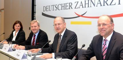 Pressekonferenz anlässlich des Deutschen Zahnärztetages