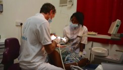 Zahnärztliche Hilfe für Westafrika