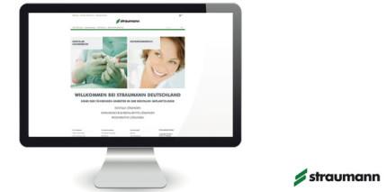 Straumann glänzt nach Relaunch mit neuem Web-Auftritt